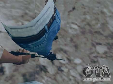 Battlefield 2142 Knife for GTA San Andreas second screenshot