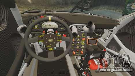 Porsche GT3 RSR 2008 Ddevil for GTA 4 inner view