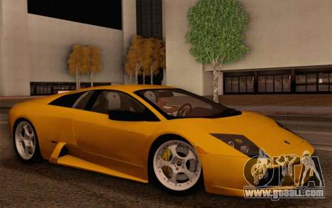 Lamborghini Murciélago 2005 for GTA San Andreas interior