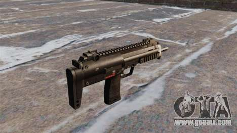 HK MP7 submachine gun for GTA 4 second screenshot