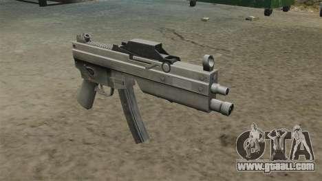 Updated MP5 submachine gun for GTA 4