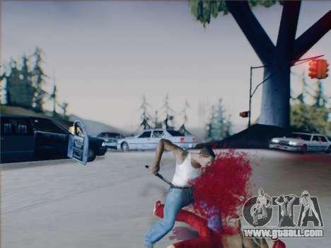 Battlefield 2142 Knife for GTA San Andreas sixth screenshot