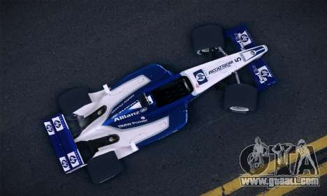 BMW Williams F1 for GTA San Andreas back left view