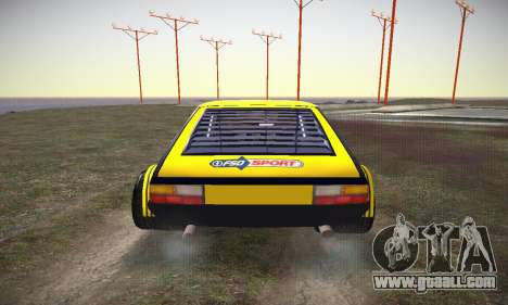 FSO Polonez 2500 Racing 1978 for GTA San Andreas side view