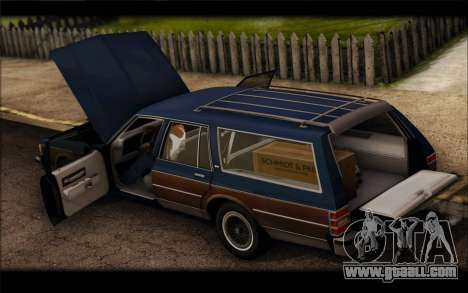 Chevrolet Caprice 1989 Station Wagon for GTA San Andreas right view