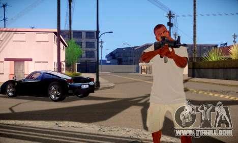 Franklin HD for GTA San Andreas forth screenshot