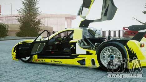 Nissan R390 GT1 for GTA 4 inner view