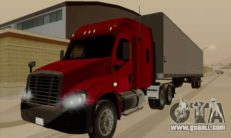 Freghtliner Cascadia for GTA San Andreas