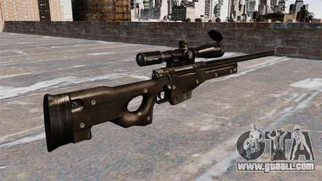AI AWM sniper rifle for GTA 4 second screenshot