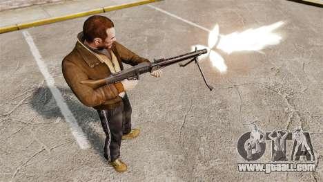 General-purpose machine gun MG42 for GTA 4 forth screenshot