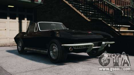 Chevrolet Corvette Stingray 427 1967 for GTA 4