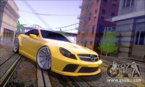 Mercedes-Benz SL65 AMG GB for GTA San Andreas left view