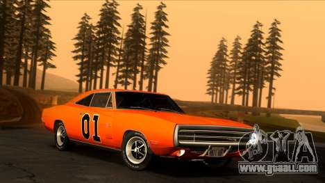 Dodge Charger 440 (XS29) 1970 for GTA San Andreas side view