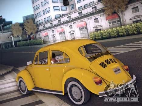 Volkswagen Käfer for GTA San Andreas right view