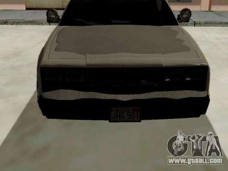 North Yanton Police Esperanto from GTA 5 for GTA San Andreas right view