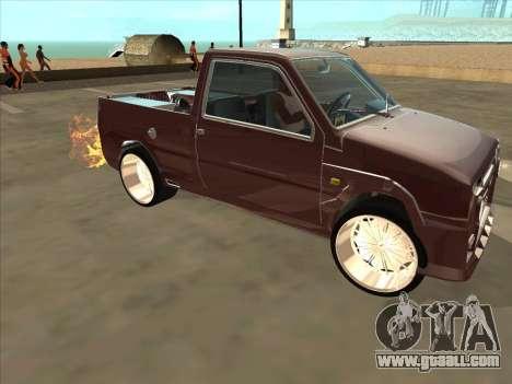 VAZ 1111 Oka for GTA San Andreas upper view