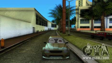 Lexus IS200 for GTA Vice City right view