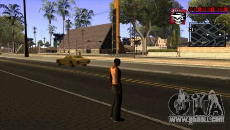 C-HUD Project Capture 6 for GTA San Andreas