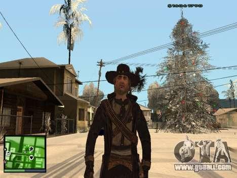 Ray Mccall of Call Of Juarez for GTA San Andreas