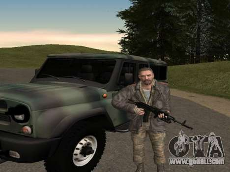 Viktor Reznov for GTA San Andreas forth screenshot