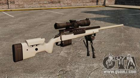 Sniper rifle McMillan TAC-300 for GTA 4 second screenshot