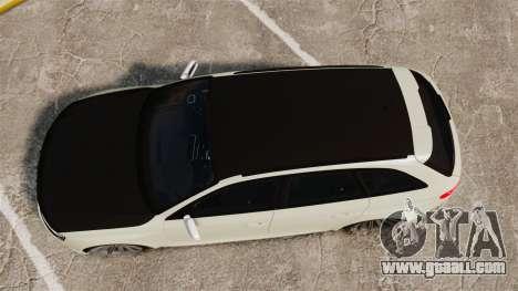 Audi RS4 Avant VVS-CV4 2013 for GTA 4 right view