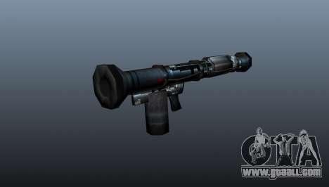 Handheld anti-tank grenade launcher for GTA 4