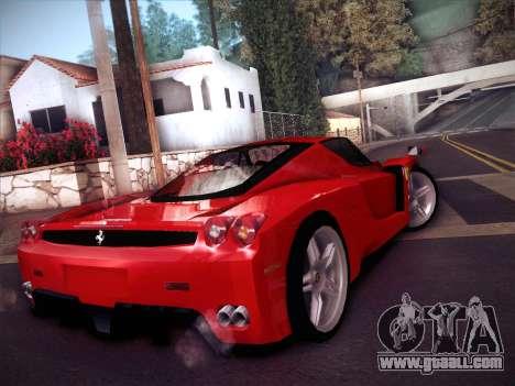 Ferrari Enzo 2003 for GTA San Andreas back left view