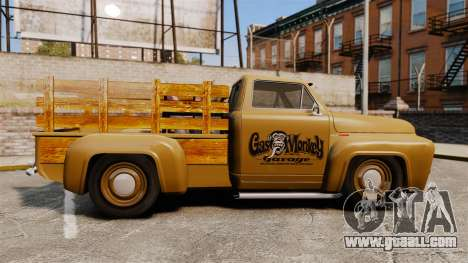 Hot Rod Truck Gas Monkey for GTA 4 left view