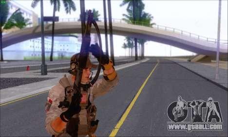 Engineer of Battlefield 4 for GTA San Andreas third screenshot