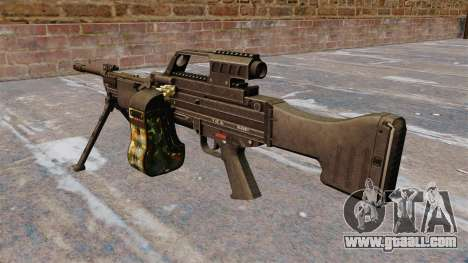HK MG4 light machine gun for GTA 4 second screenshot