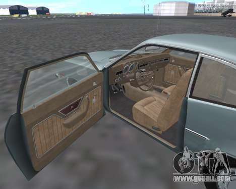 Ford Pinto 1973 for GTA San Andreas inner view