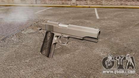 Colt M1911 pistol v3 for GTA 4