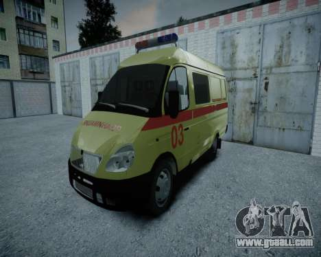 Gazelle 2705 Resuscitation v1.0 for GTA 4