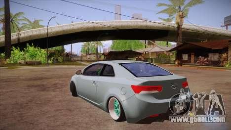 Kia Cerato for GTA San Andreas back left view