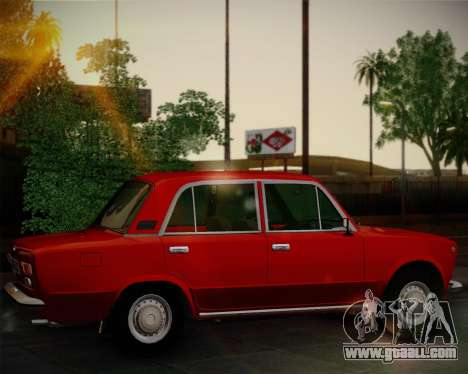 VAZ 21011 Export for GTA San Andreas back view
