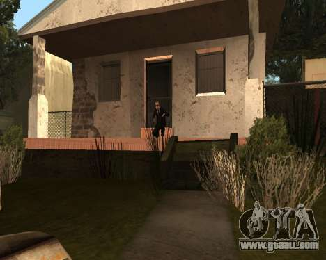 Home Guard CJ for GTA San Andreas third screenshot