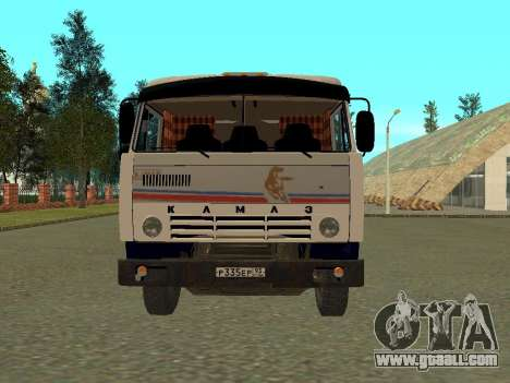 KAMAZ 5410 for GTA San Andreas left view