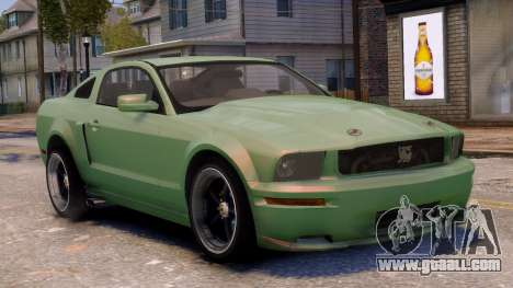 Shelby Terlingua Mustang for GTA 4 side view