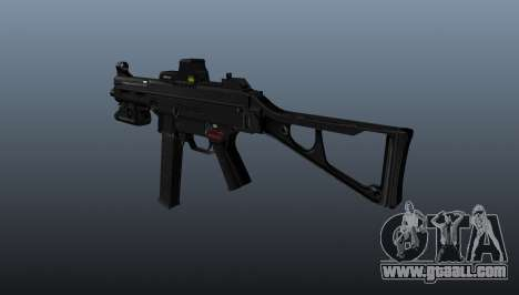 Submachine gun HK UMP 45 for GTA 4 second screenshot