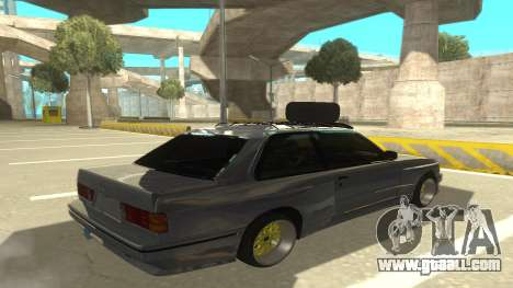 BMW E30 1991 for GTA San Andreas right view