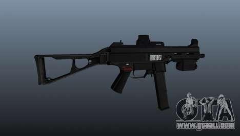 Submachine gun HK UMP 45 for GTA 4 third screenshot
