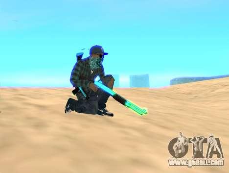 Rifa Gun Pack for GTA San Andreas second screenshot