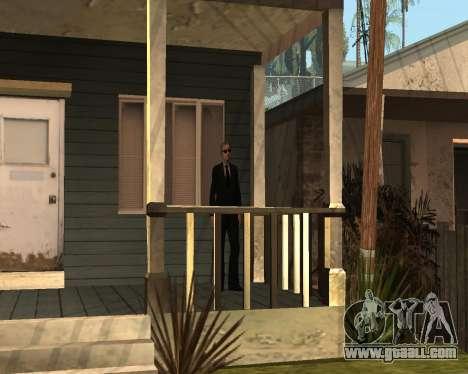 Home Guard CJ for GTA San Andreas second screenshot