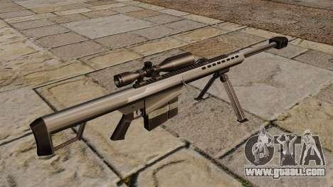 Barrett M82A1 sniper rifle for GTA 4 second screenshot