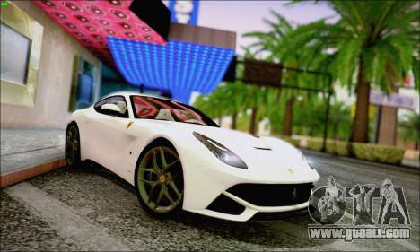 Ferrari F12 Berlinetta Horizon Wheels for GTA San Andreas left view