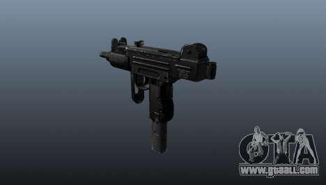 Submachine gun IMI Mini Uzi for GTA 4 second screenshot