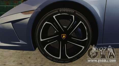 Lamborghini Gallardo 2013 for GTA 4 back view