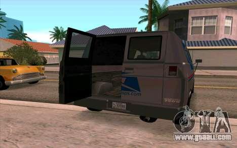 Burrito GTA 4 for GTA San Andreas left view