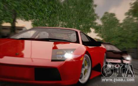 Lamborghini Murciélago 2005 for GTA San Andreas left view